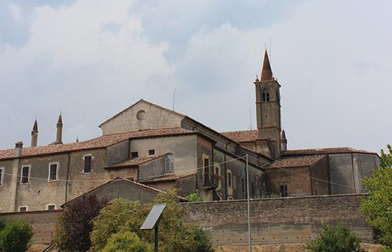 Il Santuario visto dal fiume