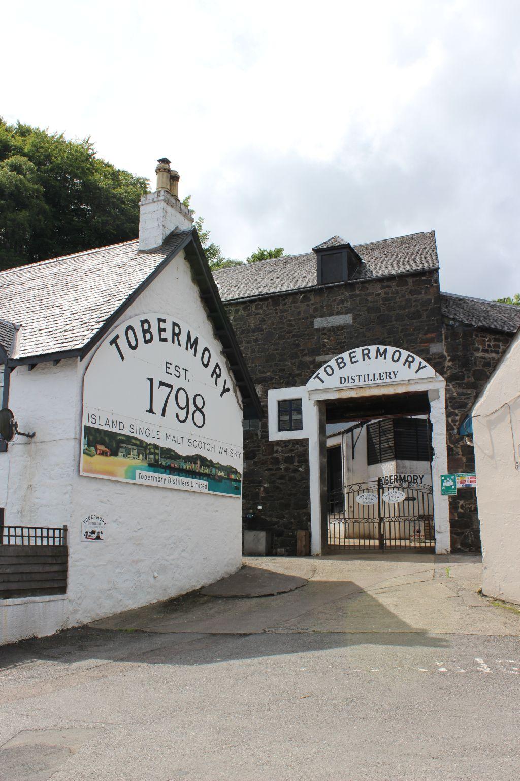 La distilleria  Tobermory