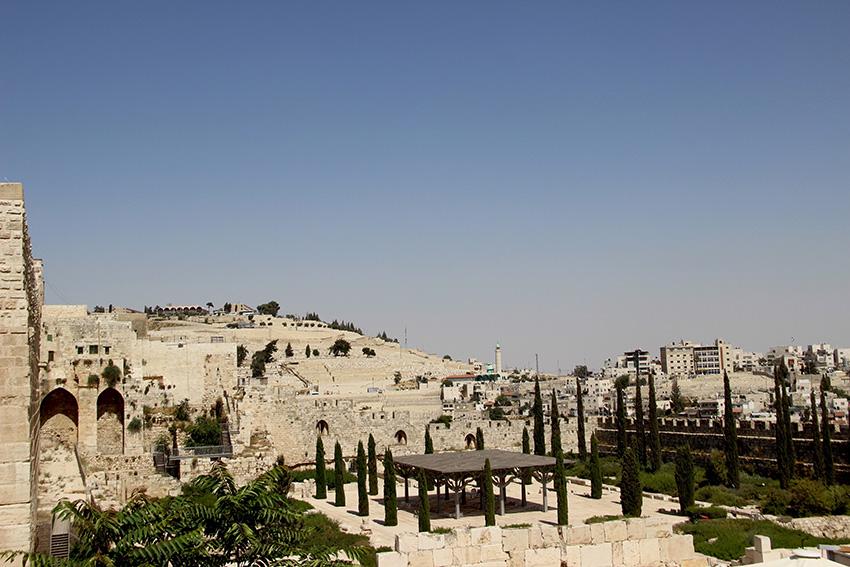Le mura che racchiudono la Città Vecchia di Gerusalemme