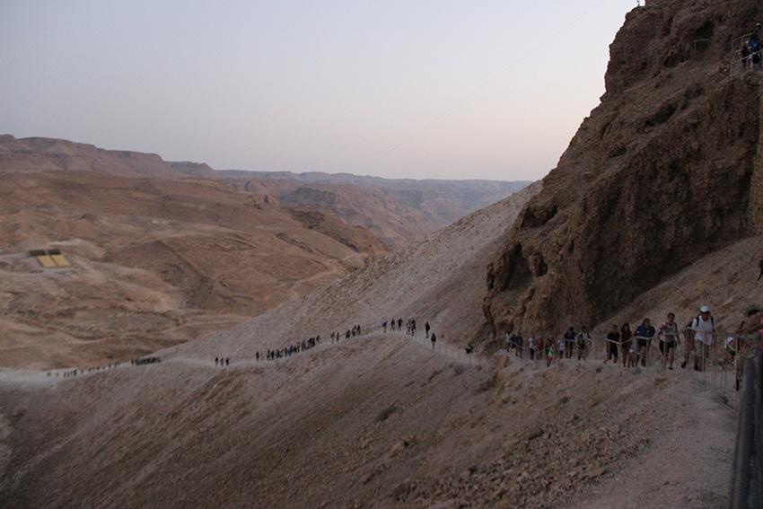 La camminata nel deserto