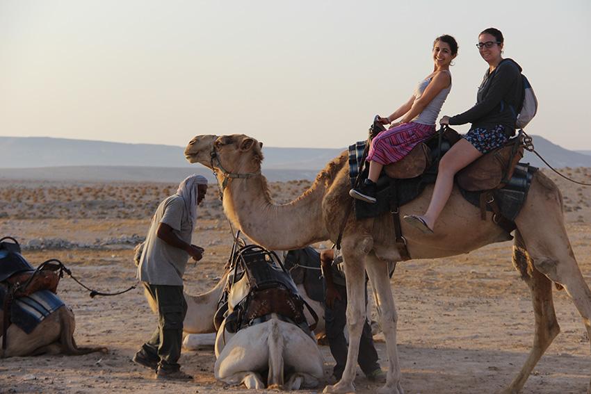 Kfar Hanokdim, accampamento beduino - Arad