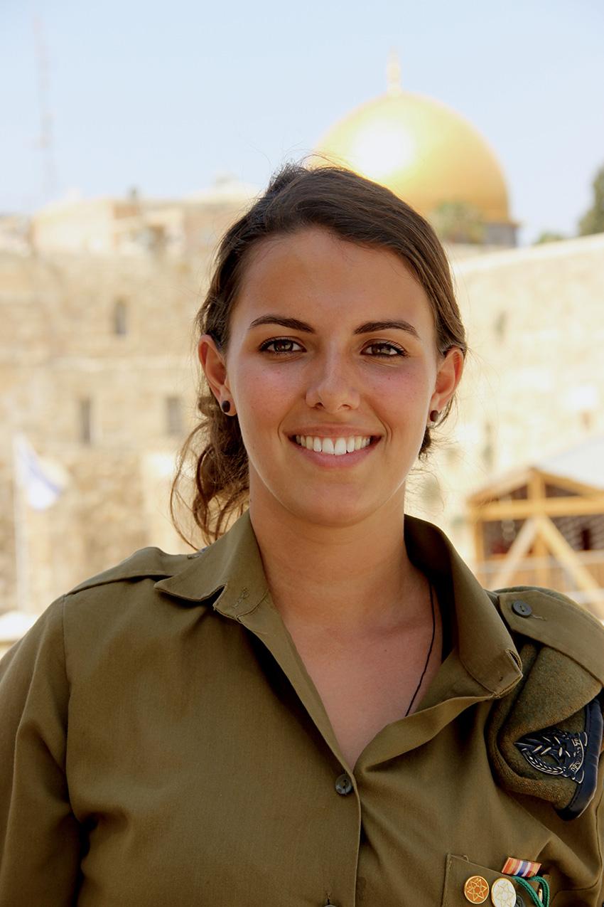 Lea Calderoni, soldatessa israeliana