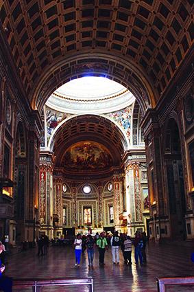 Mantova Basilica Sant'Andrea - interno