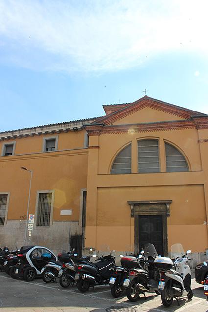 Milano Casa abitata dal Petrarca in Piazza Sant'Ambrogio