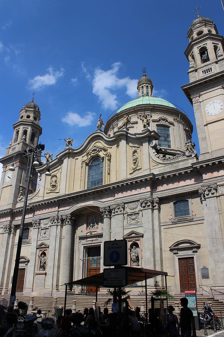 Milano Chiesa Sant'Alessandro in Zebedia