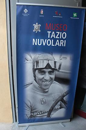 Mnatova - Locandina ingresso Museo Nuvolari