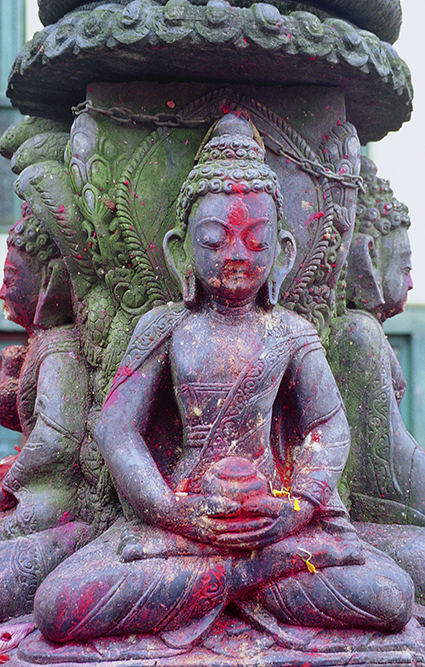 Statue votive al Thamel, Kathmandu
