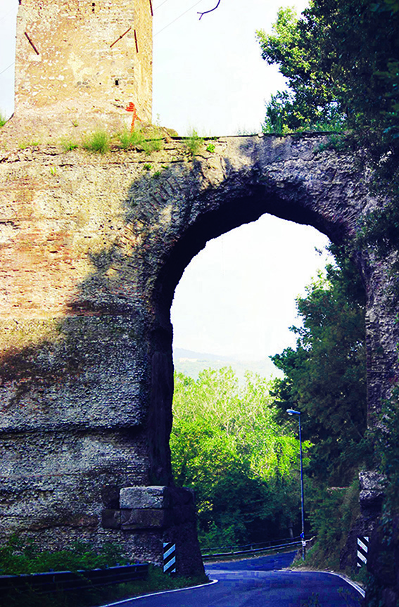 Tivoli - resti dell'acquedotto