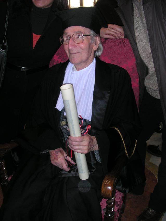 cagliari-gennaio-2005-consegna-della-laurea-honoris-causa-in-scienze-delleducazione-ad-albino-bernardini