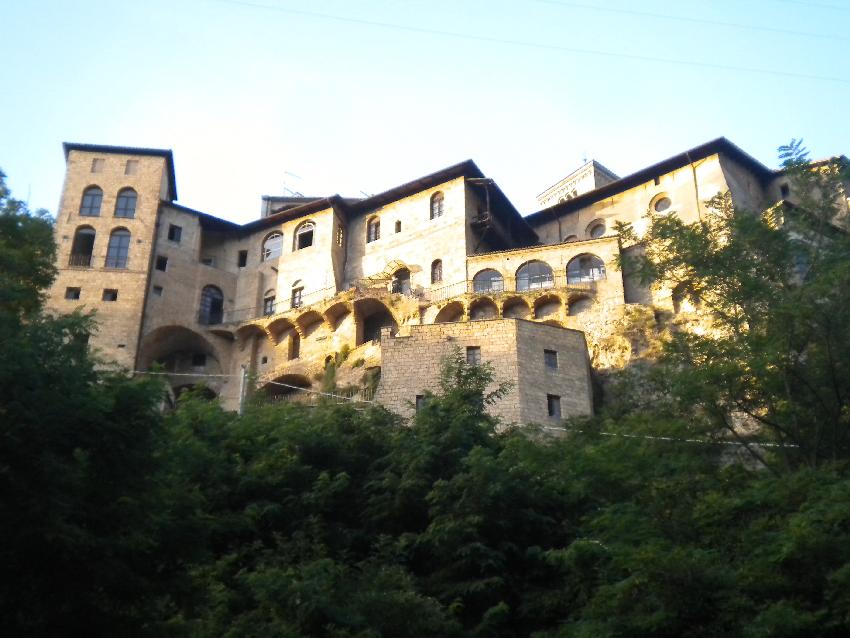 Subiaco, il monastero di Santa Scolastica