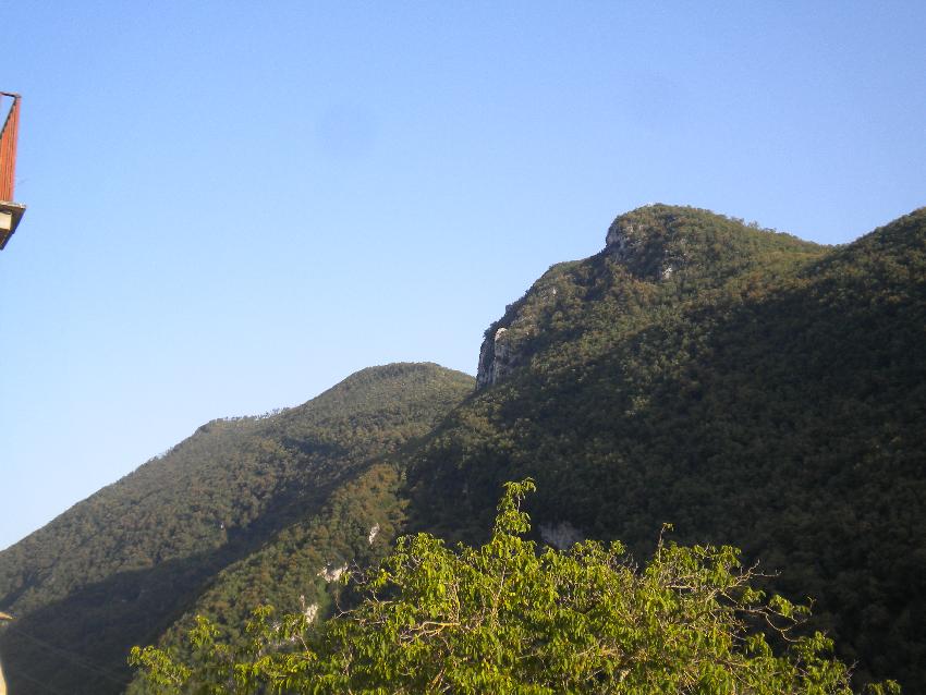 Subiaco, la montagna del gigante che dorme ...