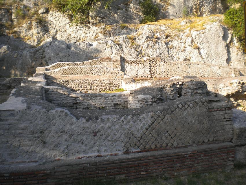 Subiaco, ruderi della villa di Nerone