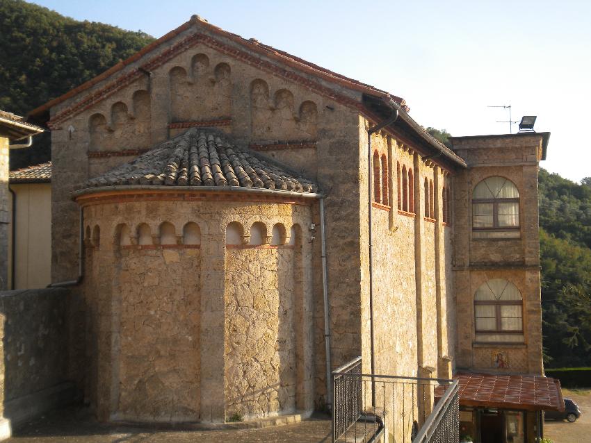 Subiaco, un'ala del monastero di santa Scolastica