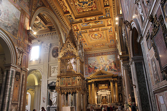 Basilica di San Giovanni in Laterano, foto di Aldo Proietti