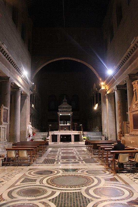 Basilica di San Lorenzo fuori le Mura, foto di Aldo Proietti