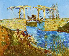 Van Gogh, Il ponte di Langlois