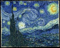 Van Gogh, Notte-stellata