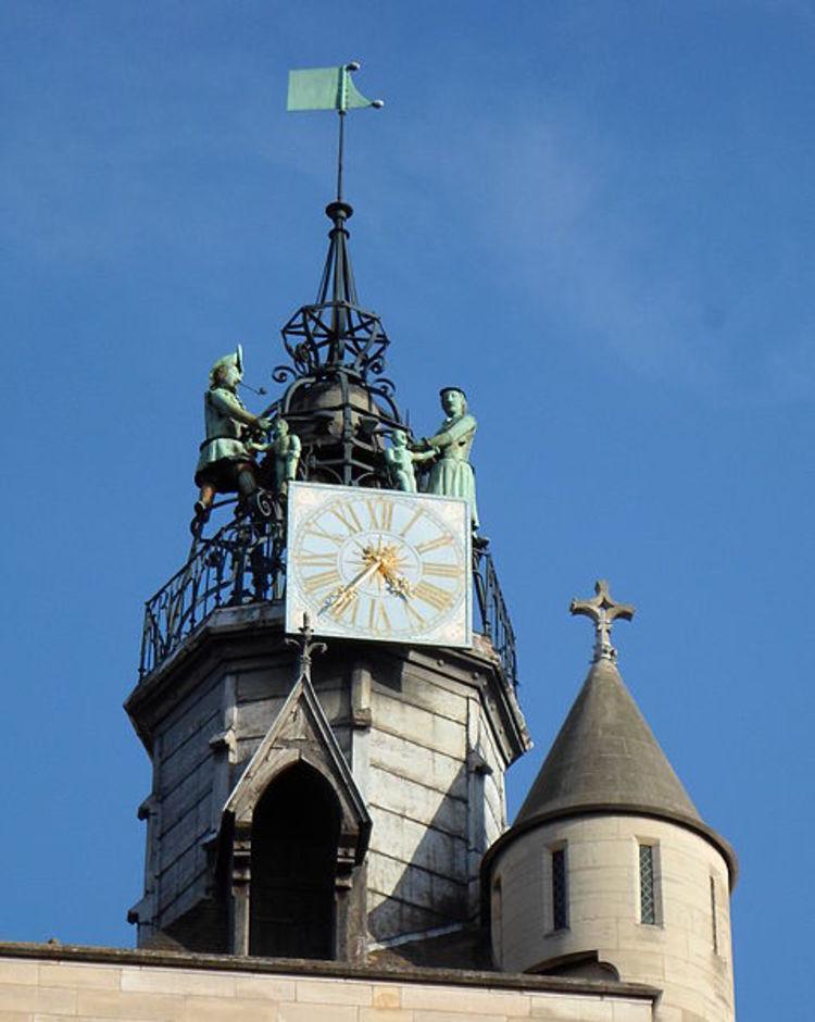 Jacquemart della chiesa di Notre Dama a Digione