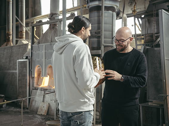 I due designer Luca Nichetto e Ben Gorham. Ventura Centrale