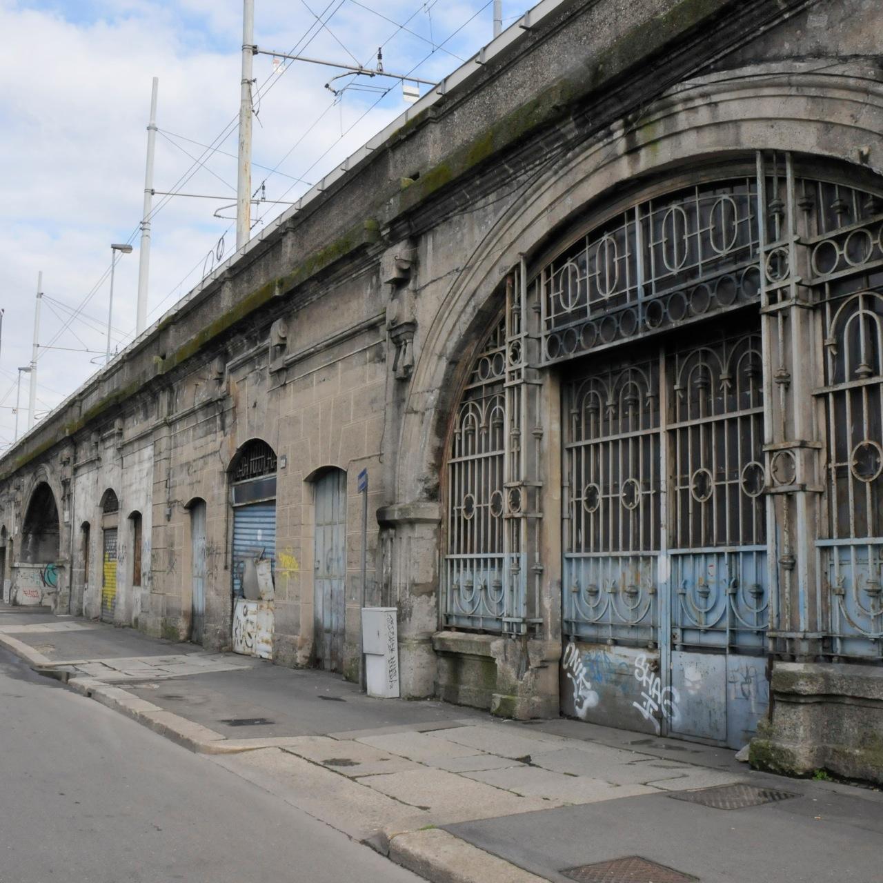 I Magazzini Raccordati a Milano. Foto di Andrea Salpetre
