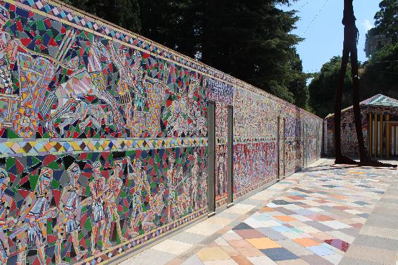 Musaba - Mosaici del chiostro