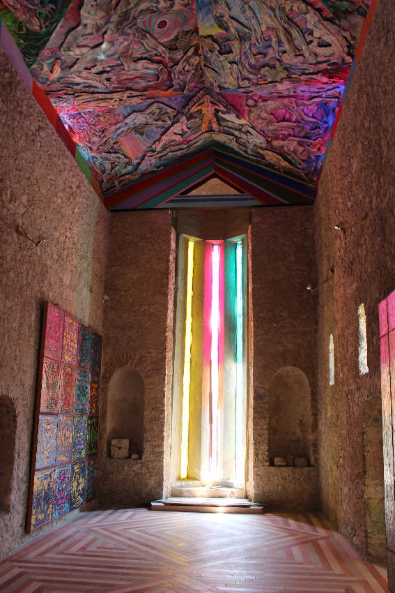 Musaba - interno chiesa