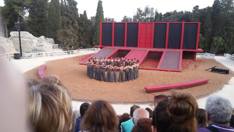 Rappresentazione delle tragedie greche al Teatro Greco di Siracusa