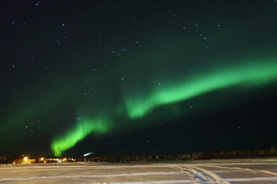 Aurora boreale andata e ritorno