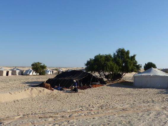 Campo tendato di Guerba