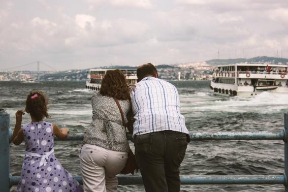 A Istanbul arrivateci dal mare