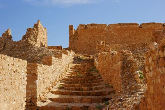 Ruderi dell'antico villaggio di Tamerza
