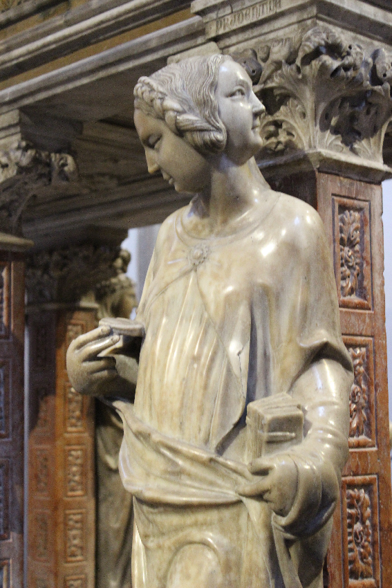 Sant'Eustorgio - Cappella Portinari . La Prudenza