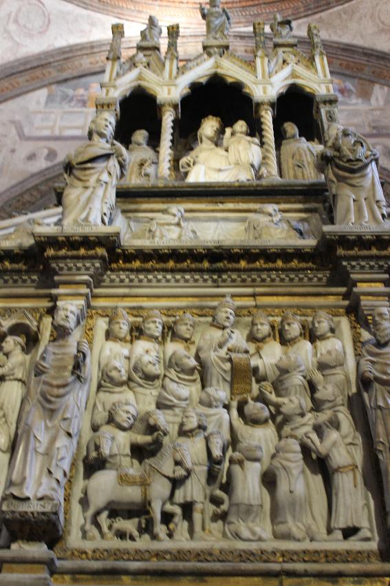 Sant'Eustorgio - Cappella Portinari - L'arca di San Pietro