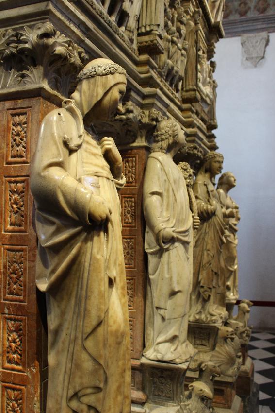 Sant'Eustorgio - Cappella Portinari - Particolare dell'Arca