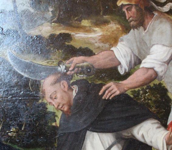 Sant'Eustorgio - L'agguato a San Pietro Martire