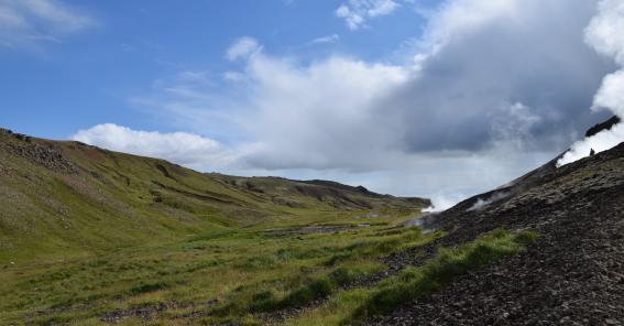 Islanda, sorgente termale