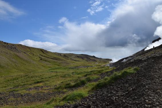 In Islanda per un bagno caldo