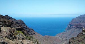 Playa de Guigui, Gran Canaria vista dall'alto