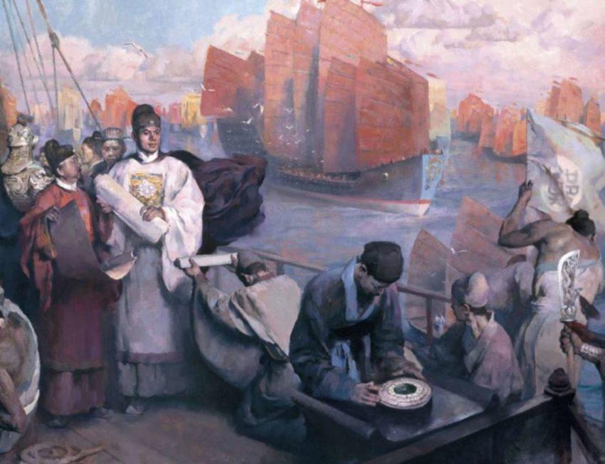 Zheng He e la flotta dei tesori